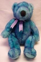 "Ty Beanie Buddies Bluebeary The Two Toned Blue Bear 15"" Plush Stuffed Animal - $18.32"