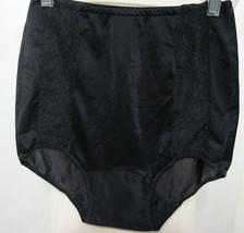 7cbf93e4c718 Vintage 60's Munsingwear Black Sheer Nylon Double Gusset Lace Inserts  Pa.