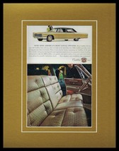 1966 Cadillac Framed 11x14 ORIGINAL Vintage Advertisement - $41.71