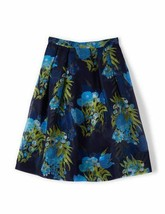 NEW BODEN Silk Full Pandora Floral WG596 Skirt Size 12 * - $69.25