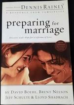 Preparing for Marriage Premarital Dennis Rainey Engagement Christian Cou... - $8.59