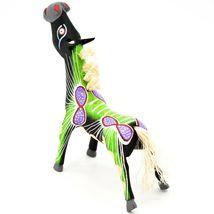 "Handmade Alebrijes Oaxacan Wood Carved Painted Folk Art Horse 5"" Figurine image 3"