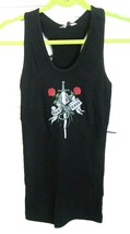 NWT 90's Hard Tail Re Release Remake Tattoo Logo Print Ribbed Tank Top B... - $38.60