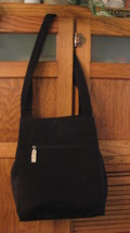 Nine West Shoulder Bag PURSE Black Handbag Satchel NICE Pocketbook  - $14.84