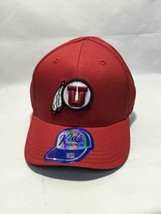 NCAA Utah Utes Fitted Hat - Youth - Adjustable - Embroidered -Red - $11.78