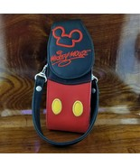 Vintage Disneyland Parks Mickey Mouse Body Parts Cell Phone Pouch Wristl... - $29.95