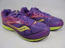 Saucony Kinvara 4 Girl's Youth Shoes Size US 6.5 B (6.5 Y) EU 39 Purple 80300-2