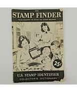 1962 H E Harris The Stamp Finder Booklet US STAMP IDENTIFIER BY COUNTRY - $10.50