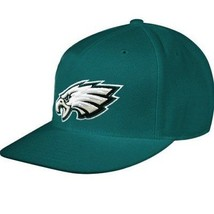 Philadelphia Eagles NFL Basic Green Team Apparel Hat Cap Adult Men's Adj... - $404,10 MXN