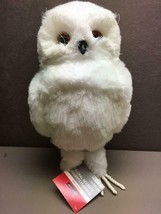 "Snowy Owl Floral Accent New With Tag Looks Like Hedwig 10.5"" Tall - $14.34"