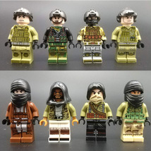 minifigures SWAT ARMy swat police special forces 8 pc military marines  - $59.99