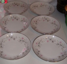 "Wentworth Fine China ""Priscilla 1514"" Coupe Soup Bowls (6) Japan - $26.99"