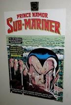 Vintage 1980's Namor Submariner 16 x 11 Marvel Comics poster 1: 1984 Sub... - $39.59