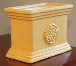 "PLANTER MID ATLANTIC POTTERY PROVENCE YELLOW  RECTANGLE 8"" L x 4.25"" x 6"" H - ₹2,993.91 INR"