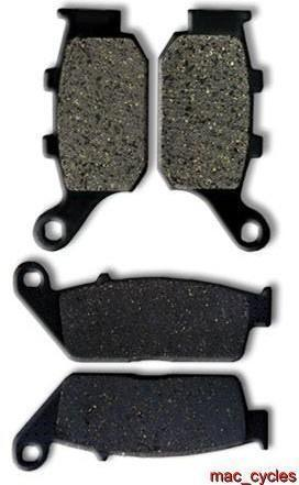 Honda Disc Brake Pads CB400F CB-1 1989-1992 Front & Rear (2 sets)