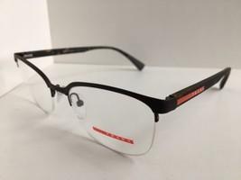 New PRADA Sport VPS 51I VY2-1O1 Semi-Rimless Clubmaster 53mm Men's Eyeglasses #1 - $119.99