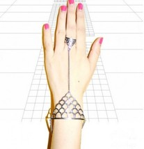 Boho Style Triangle Scale Cutout Ring&Bracelet - $5.99