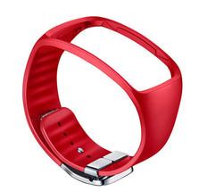 Samsung SM-R750 Galaxy Gear S Basic Color Strap ET-SR750 RED Genuine New image 1
