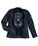 Star Wars Mens Darth Vader Racer Faux Leather Jacket by Our Universe - C... - $99.99