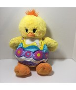 """Yellow Chick in Easter Egg Costume Plush Stuffed Animal Build a Bear 16"""" - $19.34"""