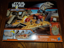 Star Wars The Force Awakens Micro Machines Millennium Falcon Playset (WR... - $14.99