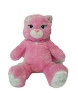 Build A Bear Princess Cat Kitty Pink Sparkle Soft Plush Stuffed Animal - $13.63