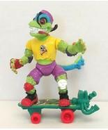 TMNT Ninja Turtles Mondo Gecko Action Figure 1990 Playmates Toys Used - $20.00