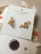 Kate Spade New York By the Pool Flamingo Stud Earring Gold - $21.77