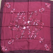 GUCCI Scarf Bandana Floral Flower Silk 100% Woman Luxury Auth New Unused... - $256.81