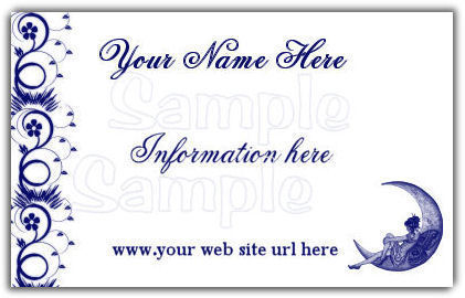 Business Card Designed to suit you BC3A Bonanza