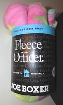 "New Joe Boxer Oversized Fleece Officer Fleece Throw Multi-Color Size: 50""x70"""