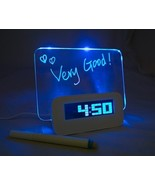 LED Alarm Clock with Message Light Board - $27.85
