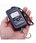 10g-40Kg LCD Digital Hanging Luggage Fishing Balance Pocket Weight Scale - $11.20