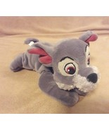 """Disney TRAMP from LADY & THE TRAMP Movie small plush beanbag 7"""" - $7.69"""