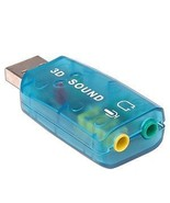 USB 2.0 External 5.1 Channel 3D Sound Card Adapter PC - $9.49