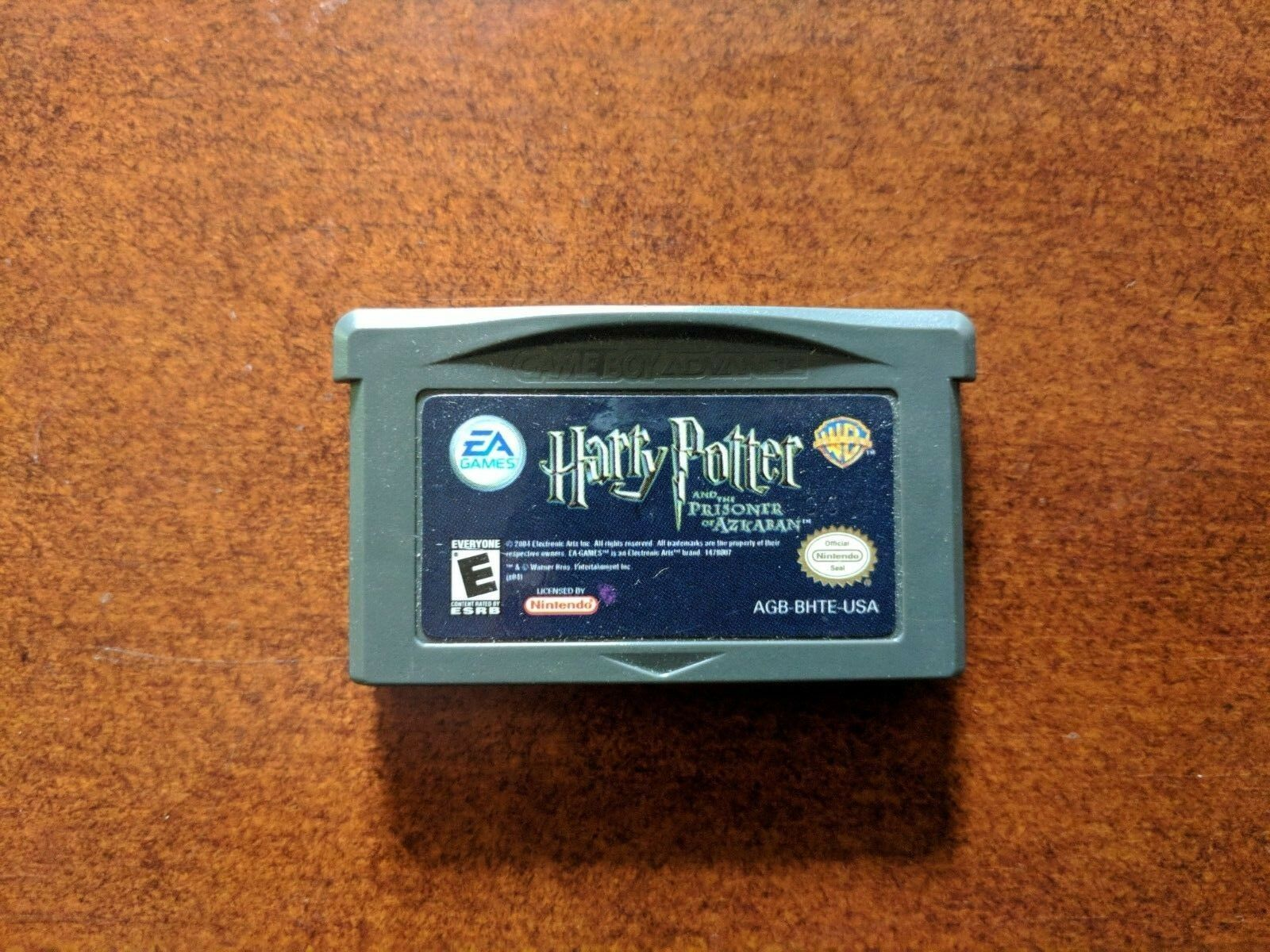 Harry Potter and the Prisoner of Azkaban Nintendo Game Boy Advance GBA Authentic