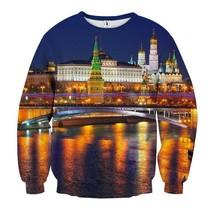 Moscow Grand Kremlin Palace Royal Building Sweatshirt - $36.99