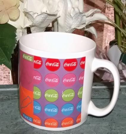Coca Cola Ceramic Coffee Mug