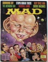 Mad Magazine #321 Sept 1993 Deep Space Nine Star Trek - $6.00