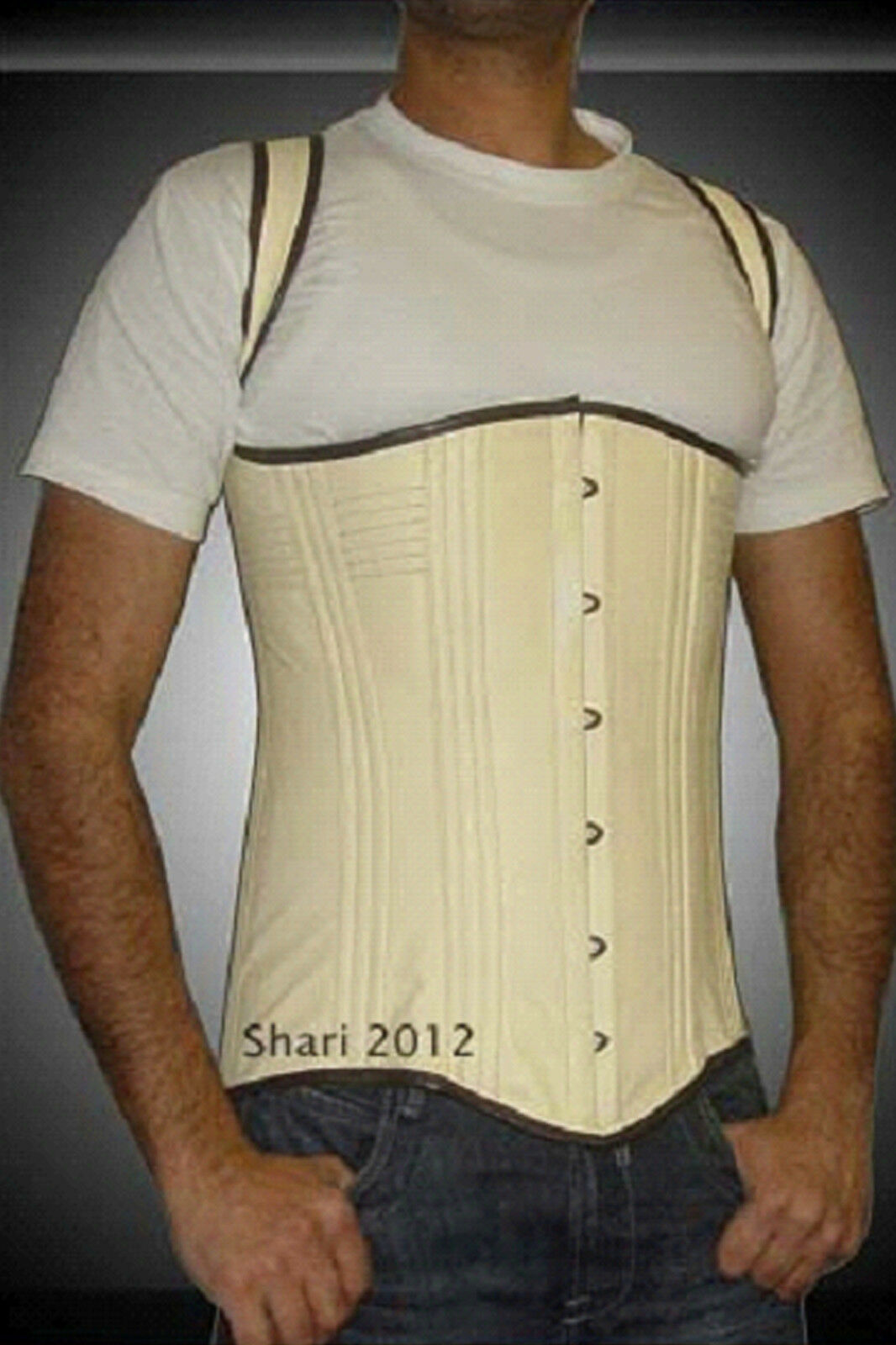 Primary image for New High Quality Men's Leather Corset