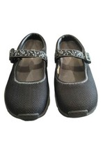Merrell Womens US 8.5 Encore MJ Black Slip On Buckle Mesh Casual Flat Mule Shoes - $34.20