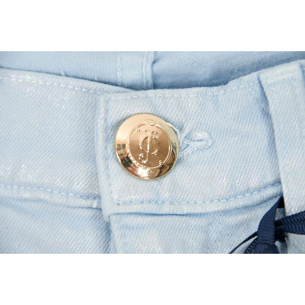 Juicy Couture Black Label Malibu Sky Iridescent Stretch Skinny Jeans 30 NWT image 4