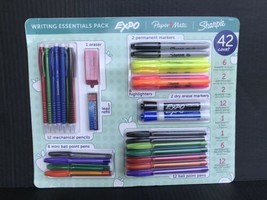 Expo, Papermate, & Sharpie Writing Essentials 42 Count Assortment Pack -NEW - $7.99