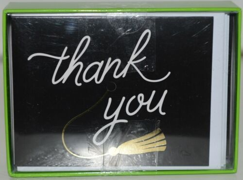 Design 119 09357 Grad Hat Thank You Cards and Envelopes Blank Inside Package 20
