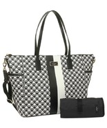 Kate Spade Adaira Penn Place Black & White Vinyl Baby Bag NWT - $219.00