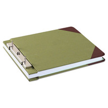 "Canvas Sectional Storage Post Binder, 3"" Cap, Green - $91.06"