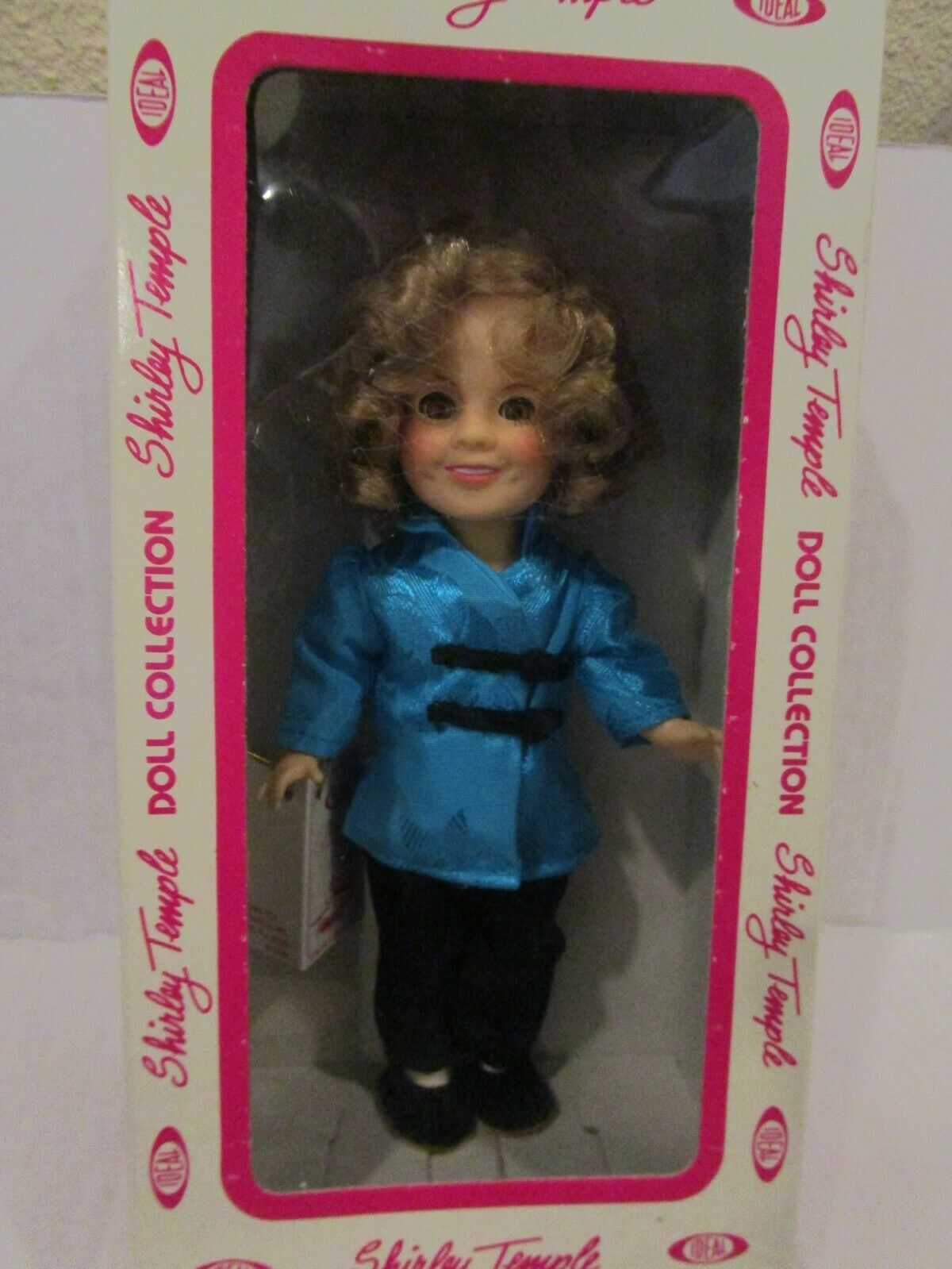 "Primary image for Vintage 8"" Shirley Temple Doll by Ideal 1982 Stowaway New in Box"