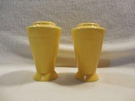 Vintage Homer Laughlin Harlequin Yellow Salt & Pepper Shaker - $16.95