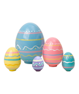 """Nesting Easter Eggs - 4"""" w/ 5 Pieces - $29.70"""