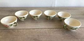 Set 6 Franciscan Desert Rose Tea Cups and Saucers Made in USA image 9